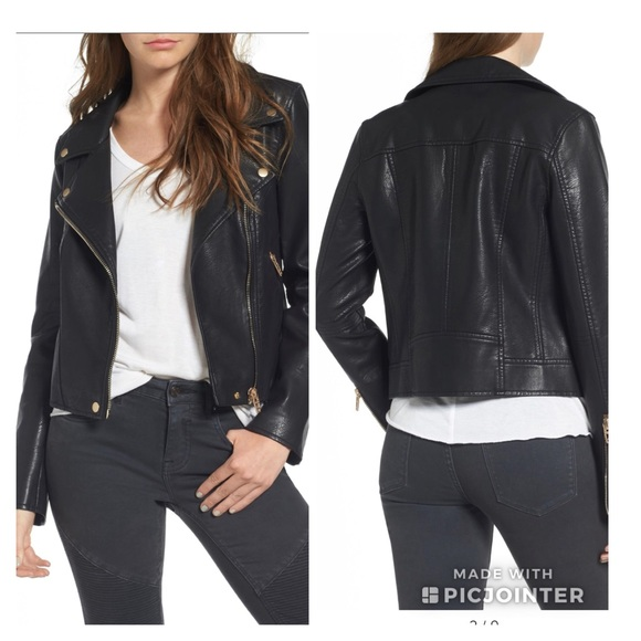 30d881334 NEW Blank NYC Life Changer Moto Jacket 🏍 NWT